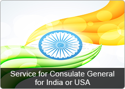 indian consulate services